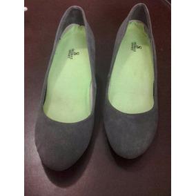 Zapatos De Gamuza Grises! - Zapatos Mujer en Mercado Libre Venezuela ecf8e7cb8ce55