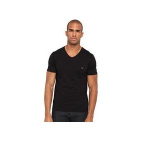 Camiseta Básica Emporio Armani V-100% Original- Ver Tamanhos 982aa4ca1e639