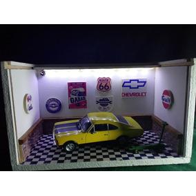 Diorama Luminaria Led 01 Miniatura 1/43 A 1/32