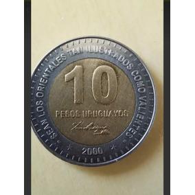 Moeda 10 Pesos Uruguayos