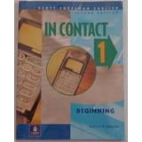 Libro De Ingles In Contact 1 Intro Book/wotebook (usado)