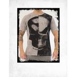 Camiseta Black Skull Tshirt Black Skull Bw 25723ec0c31