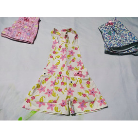 Roupa Infantil Jardineira Feminina Tam 1,2,4,6