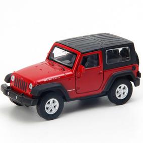 Miniatura - 1:32 - Jeep Wrangler Rubicon - Vermelho - Welly