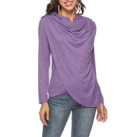 5605b4ee08 T Shirt Comprida Feminina - Camisetas e Blusas no Mercado Livre Brasil