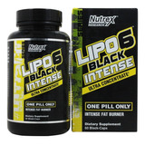 Lipo 6 Black Intense Ultra Concentrate Original 120 Caps