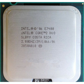 Procesador Intel Core2 Duo E7400, S-775, 2.80 Ghz, 3mb L2