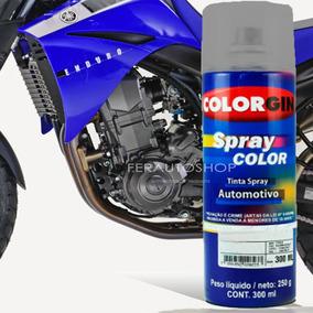 Tinta Spray Automotiva Star Dust Silver Motor Yamaha