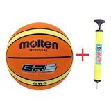 Pelotas De Basket Molten #5 + Inflador -envio Gratís