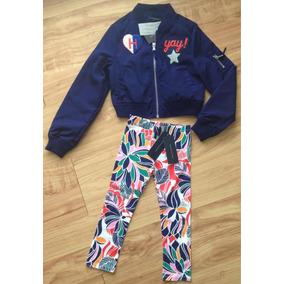 Tommy Hilfiger, Casaca+leggings. Niña 4/5 Añitos!