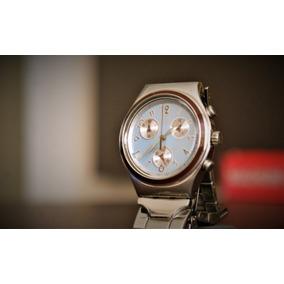 cef5254a197 Relogio Swatch Swiss Irony Stainless Steel Preço Novo - Relógios De ...