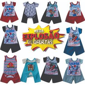 Roupas De Bebe Menino - Conjuntos Outros de Bebê no Mercado Livre Brasil b5c0d8b97a1