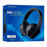 Headset New Fone Gold 7.1 Wireless Stereo Sony Ps4
