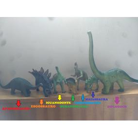 Dinossauros-vários: Diplodoco, Estegossauro, Apatossauro...
