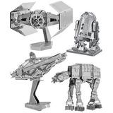 Modelos 3d Metal Starwars Pack (12)