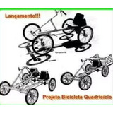 3 Projetos Bicicletas Quadriciclo