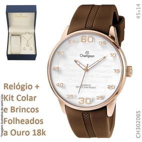 819adf4d30b Relogio Champion Ch30206 Steel Back - Relógios De Pulso no Mercado ...