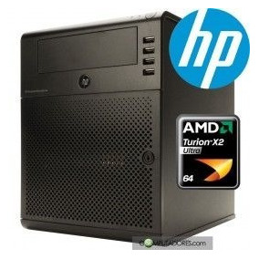 Servidor Hp Micro Server 8gb Hd 500gb 1410