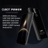Cubot Power Móvil Teléfono Dual 4g Lte 6gb Ram 128 Rom