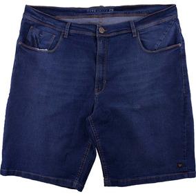 Bermuda Hang Loose Jeans G Pockets Extra Grande - Azul