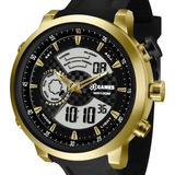 Relógio X-games Masculino Anadigi Dourado - Xmspa018 P2px