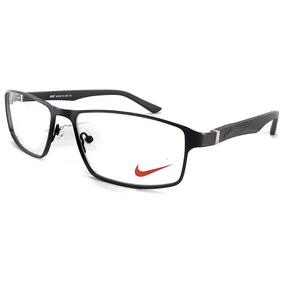 Armação Oculos Masculino Grau Nk8017 Original Importado 544cd8cd18