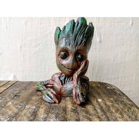 Vaso Baby Groot Guardiões Da Galaxia