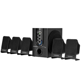 Home Theater Ht-12 Subwoofer,5.1 Canais,usb,75w Rms- Mondial