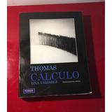 Libro De Cálculo Thomas De Una Variable.