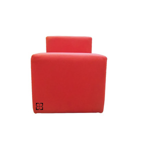 Poltrona Moderna Color Roja Estilo Living Umberto Capozzi