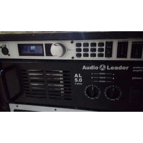 Potencia Audio Leader 5.0 E Processador Dbx Pa+