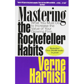 Libro Mastering The Rockefeller Habits: Your Growing Firm