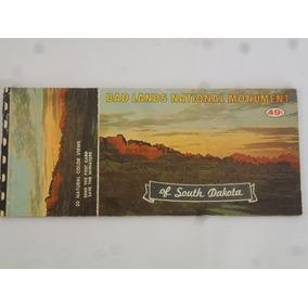 Cartão Postal Antigo Bad Lands Eua 10 Vistas Diferentes