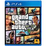 Gta Grand Theft Auto V Para Ps4 Nuevo Sellado