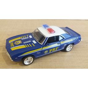 Miniatura Mustang Polícia Federal 1:32 Rmz City Série Azul