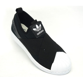 Adidas Slip On Superstar Preto - Tênis para Feminino no Mercado ... f9654edd00af4