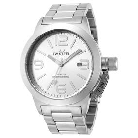 00f7d47a0e8 Relógio T.w. Steel Ceo Canteen Quartz Gray Dial Tws Pulso - Relógios ...