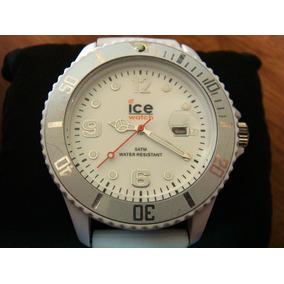 Reloj Ice Watch Fechador Silicona Blanco.