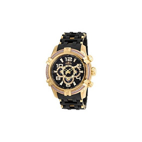 Invicta Bolt Chronograph Black Dial Mens Watch 25555