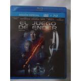 Pelìcula Ediciòn Especial El Juego De Ender Blueray+dvd