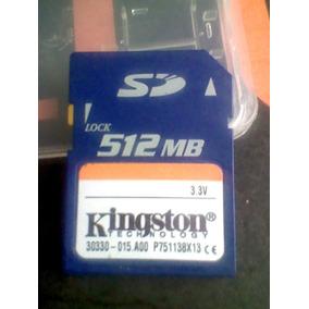 Tarjeta Sd 512mb Kingston + Garantia
