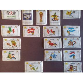 Figurinhas Copa México 86 - Duplas