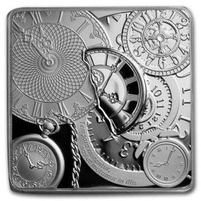 Cook Island 5$ Time Capsule 2017 - 1 Oz Proof - Prata 999