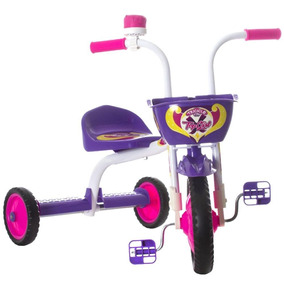 Triciclo 3 Rodas Bicicleta Infantil Menina Ultra Bike Roxo