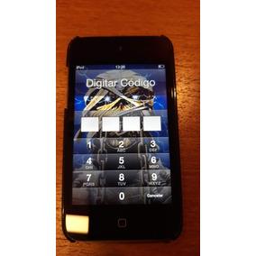 Ipod Touch 4a. Geração Wifi 64gb Preto + Capa Angry Birds