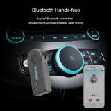 Adaptador Receptor De Audio Bluetooth Aux 3.5mm Manos Libres