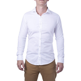 13f52c4ad8d Linda Camisa Social Branca Ml Tutti Tanto Tricoline T 3 - Camisa ...