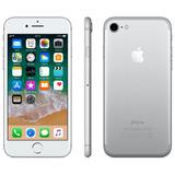 iPhone 7 Prata Tela 4,7 4g 32 Gb Câmera 12 Vitrine - Barato