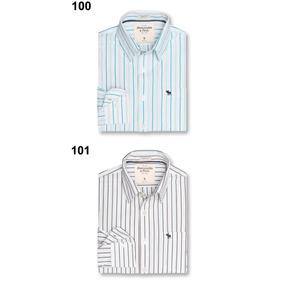 Camisas Abercrombie Caballero Originales Paquete 2 Piezas