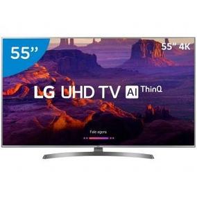 Smart Tv 4k Led 55 Lg 55uk6540 Wi-fi Hdr - Inteligência Art